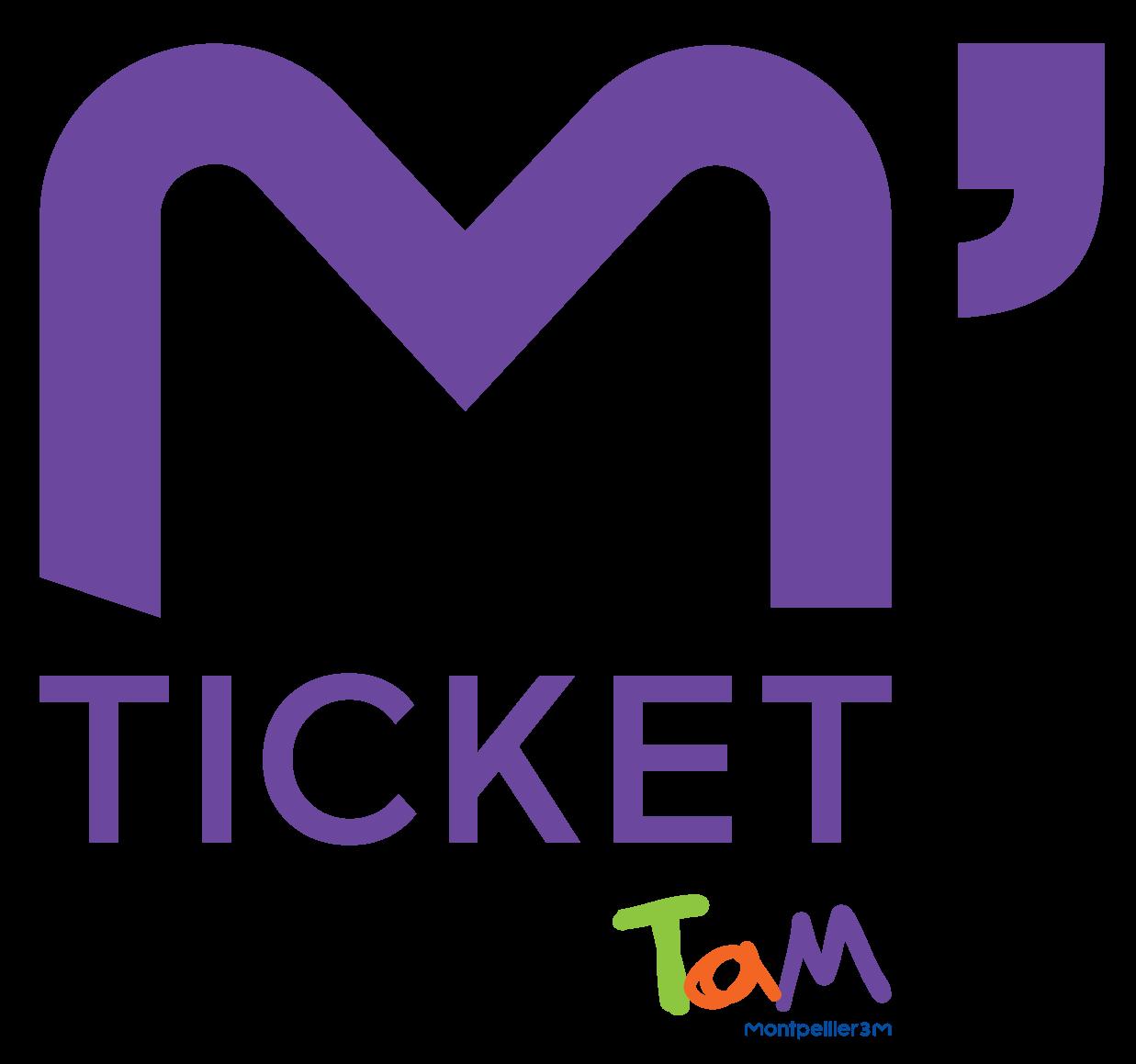 logo application m'ticket tam